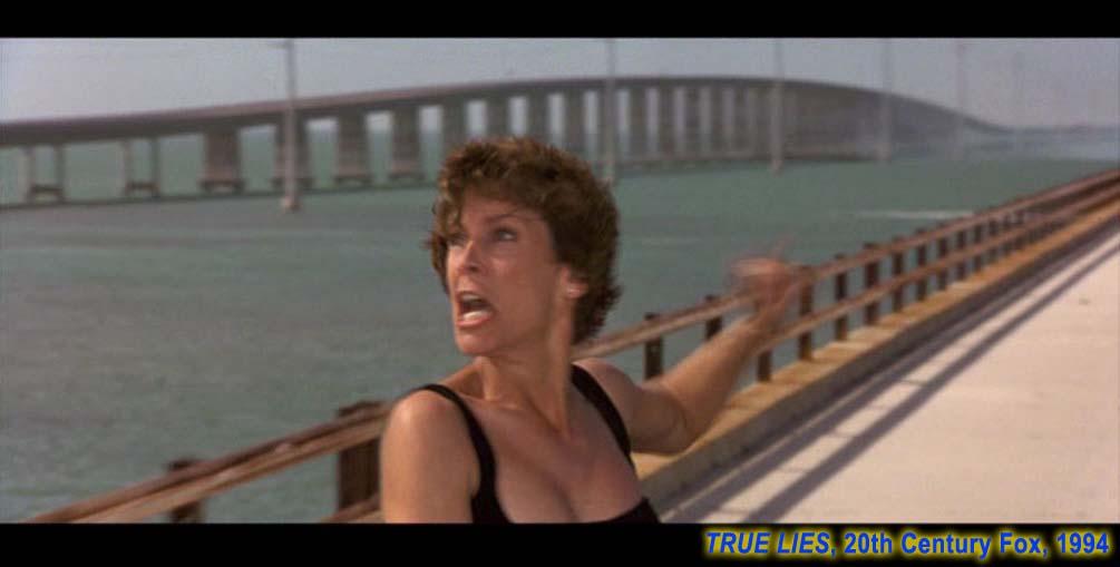 Les Keys de Floride. 'True Lies'. 'Harry, le pont est ... Arnold Schwarzenegger